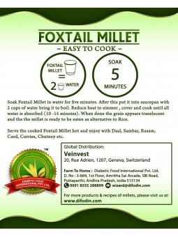 Granoss Foxtail Millet