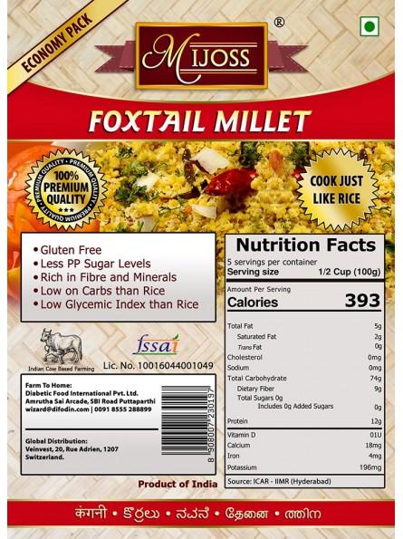 Mijoss - Foxtail Millet