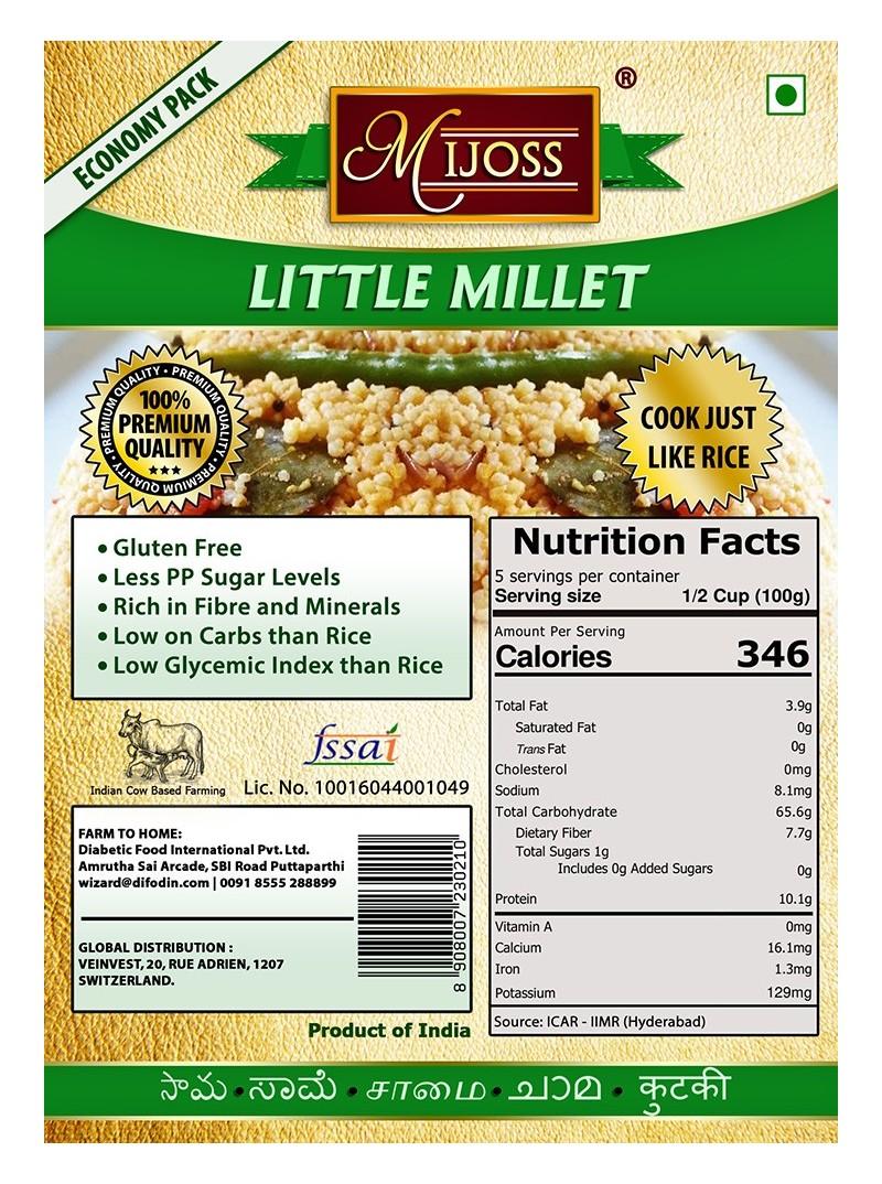 Mijoss - Little Millet