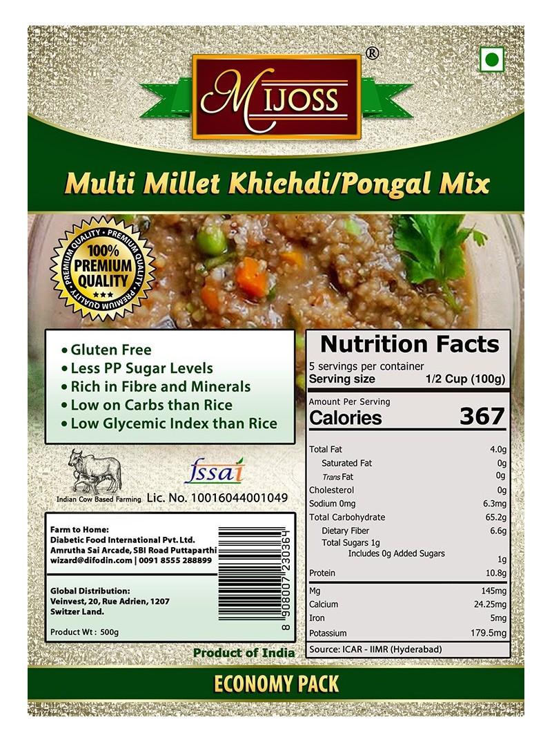 Mijoss - Multi Millet Khichdi/Pongal Mix