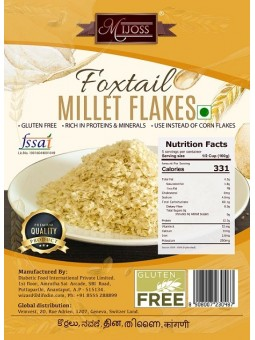 Mijoss Foxtail Millet Flakes
