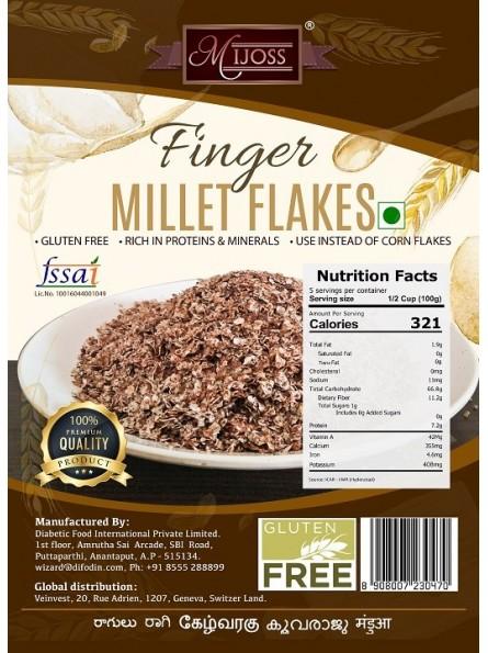 Mijoss Finger (Ragi) Millet Flakes.