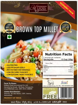 Mijoss Brown Top Millet (500gms).