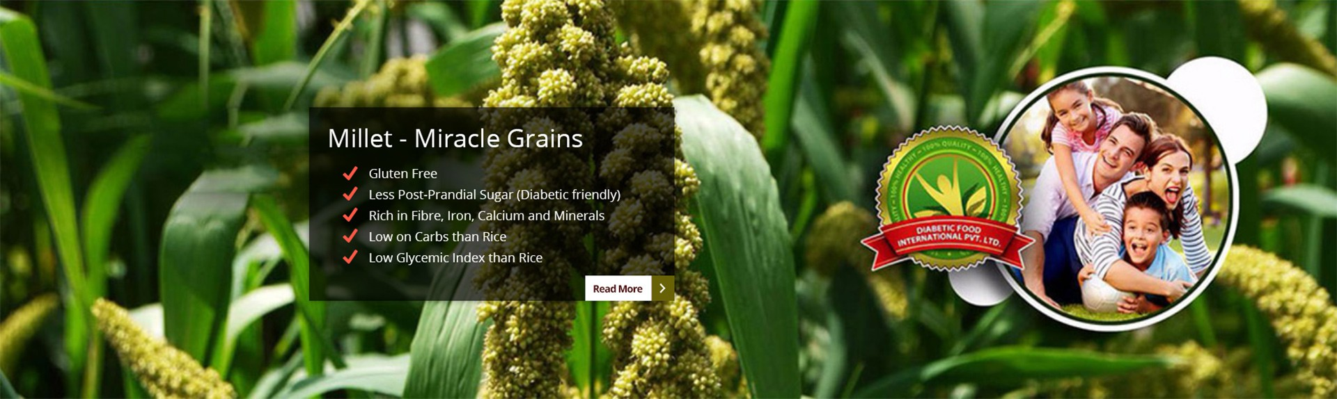 Millet - Miracle Grains